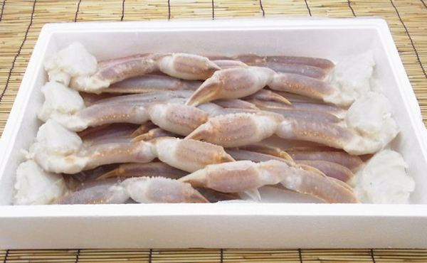 【売切】生ズワイ蟹3Lサイズ2kg箱