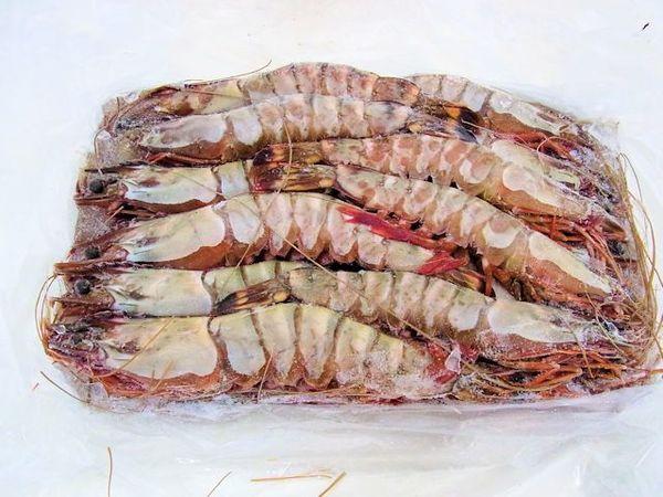 「天然」有頭ブラックタイガー海老(シータイガー) 25尾のサムネイル