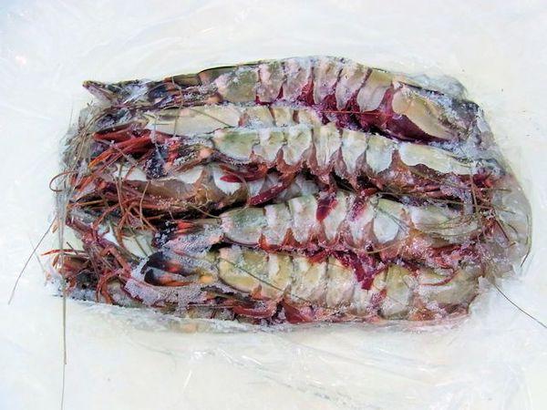 「天然」有頭ブラックタイガー海老(シータイガー) 16尾