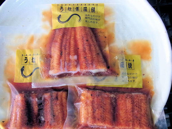 中国産 うなぎ蒲焼 真空パック(1P=100g)のサムネイル